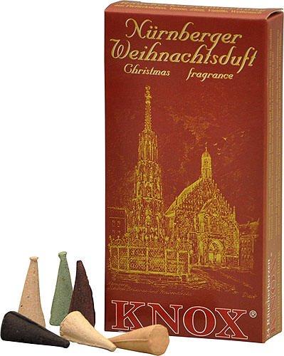 Knox Nuremberg German Incense Cones Variety Pack Made Germany Christmas Smokers (Christmas Cones Incense)