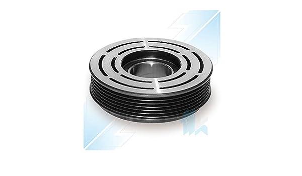 climática Compresor Polea (apto para Peugeot 206, 307 sanden 6 V12 6pk (PV6) 119,00 mm: Amazon.es: Coche y moto
