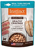 Instinct Healthy Cravings Grain Free Real Tuna Recipe Natural Wet Cat Food Topper By Nature'S Variety, 3 Oz. Pouches (Case Of 24) For Sale
