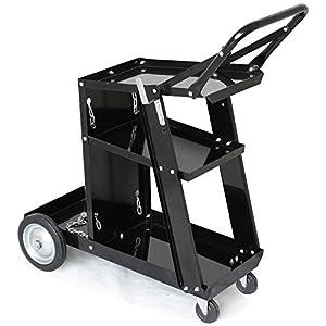 Yaheetech Welding Cart Trolley Welder Storage Bench