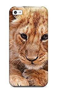 XdHiQyN98lDFZC DanMarin Animals Lions Baby Animals Fresh New Feeling Iphone 5c On Your Style Birthday Gift Cover Case