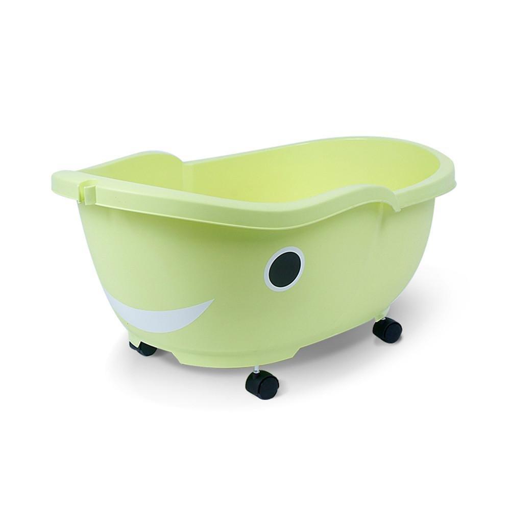 MYMGG Große Starke Babywanne Babybadewanne Kinder Badewanne Neugeborene Badewanne Geeignet für 0-8 Jahre Alt Baby Umweltschutz PP-Kunststoff-Sicherheit ungiftig Größe 83x29x35cm