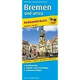 Radkarte / RK: Bremen und umzu: Radkarte mit Ausflugszielen, Einkehr- & Freizeittipps, wetterfest, reissfest, abwischbar, GPS-genau. 1:100000