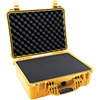 Pelican 1520 Camera Case With Foam (Yellow)