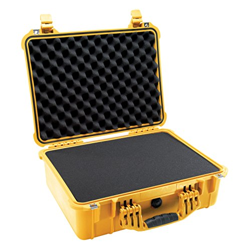 Pelican 1520 Camera Case With Foam (Yellow) by Pelican