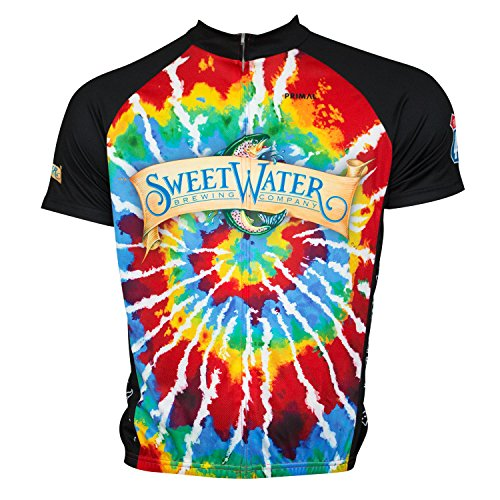 Primal Wear Sweetwater Brewing Company Beer Cycling Jersey Men's XL Short Sleeve - Beer Short Sleeve Cycling Jersey