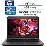 """2018 HP ZBook Flagship Mobile Workstation Laptop, 14"""" HD (1366 X768) LCD Display, Intel Core i5-7200U (Up to 3.1GHz), 4GB DDR4 SDRAM, 500GB Hard Disk Drive, FirePro W4190M HD Graphics 620, Win 10 Pro"""