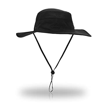 YCHY Outdoor Boonie Sun Hat - UPF 50 Protection for Men   Women. Wide Brim  Summer Hat. Quick Dry for Fishing c6c7405aaf74