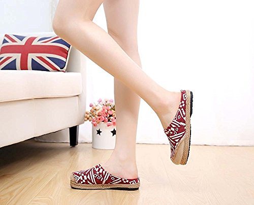 Pantofole Donna Donna Pantofole Red Lazutom Pantofole Lazutom Red Lazutom 50A4fnqA6