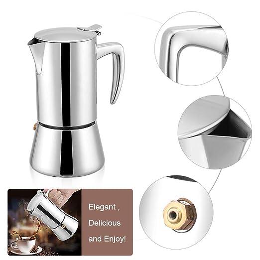 Acogedor Cafetera de Espresso Stovetop Moka Express ...