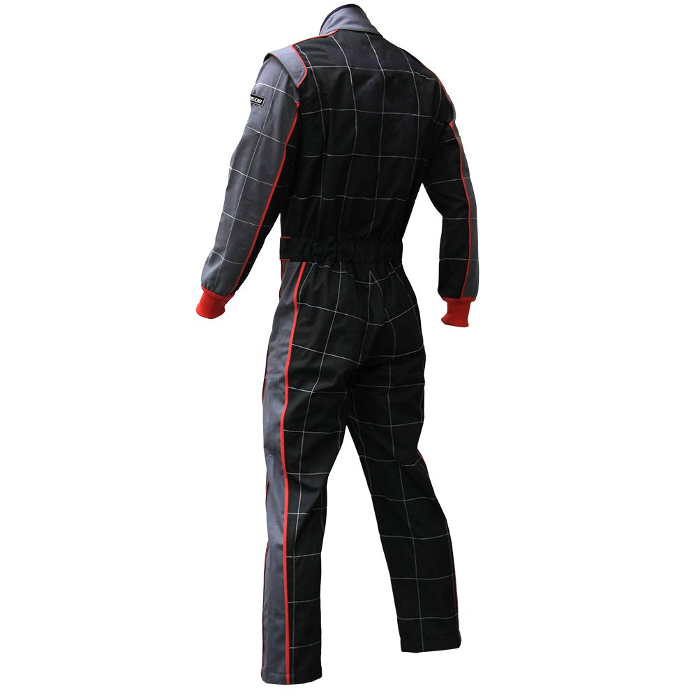 jxhracing RB-CR002 One-piece One Layer Auto Go Karts Racing Suit-X Large by jxhracing (Image #4)