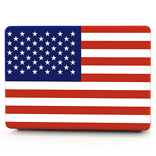 Apple macbook case 13.3 retina inch ,American flag plastic macbook shell hard PC case SUNWAY ultra-thin slim high protection macbook cover case for 13
