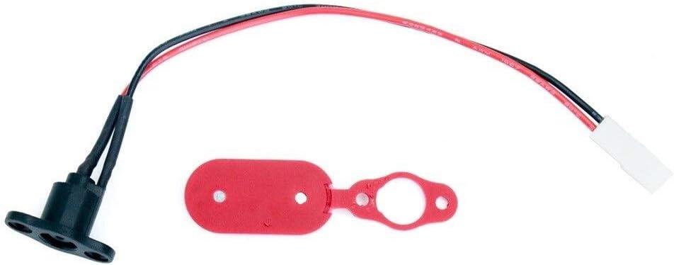 Sbeautli Fall-Silikon-Cap elektrische Roller-Ladebuchse Staubdichtes Kompatibel mit Mijia M365 Pro Elektro-Scooter Zubeh/ör Die Ihren T/äglichen Ersatz