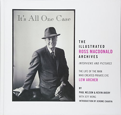 Product picture for Its All One Case: The Illustrated Ross Macdonald Archives by Kevin Avery