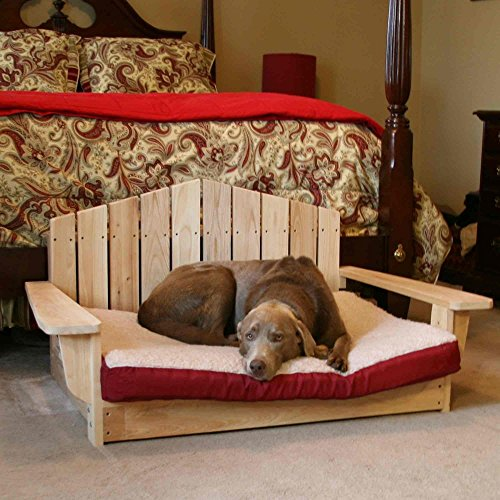 - Designed For Outdoors Cypress Adirondack Pet Chair - Large