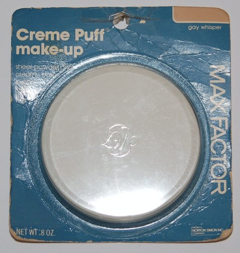 Max Factor Creme Puff Make-up Sheer Powder and Creamy Base Foundation in One .8 Oz - Gay Whisper -  B005RGRB4U