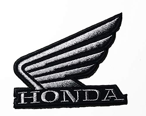 Motorcycle Motorbike Wing Vehicle Logo Patch Embroidered Sew Iron On Patches Badge Bags Hat Jeans Shoes T-Shirt Applique ()