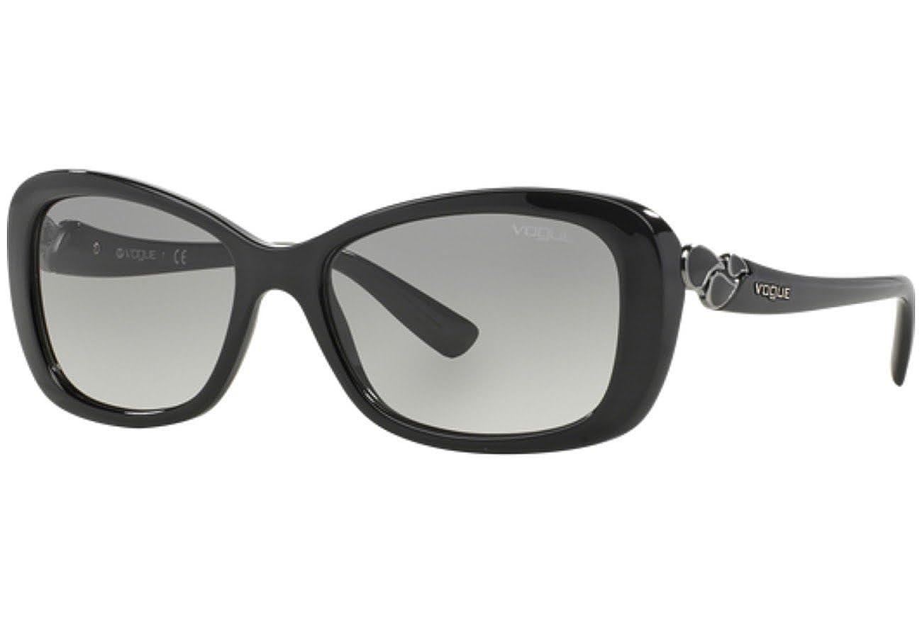 Gafas de Sol Vogue VO2917S BLACK - GRAY GRADIENT: Amazon.es ...