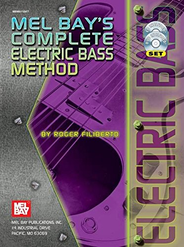 Mel Bay Complete Electric Bass Method (Book, CD, and - Bass Mel Bay