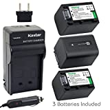 Kastar Battery (3-Pack) and Charger
