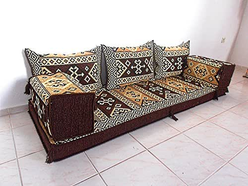 Furniture oriental seating arabic sofa sofa for Floor couch amazon