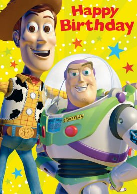 Toy Story Birthday Card Amazoncouk Toys Games