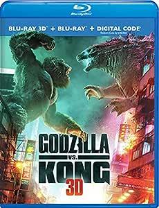 Godzilla Vs Kong (3D Blu-Ray/Blu-Ray/Digital)
