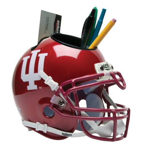 (NCAA Indiana Hoosiers Mini Helmet Desk Caddy)