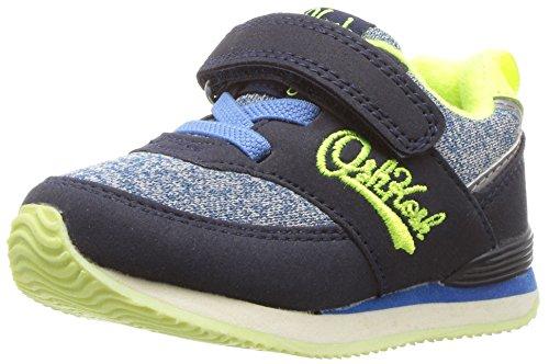 Toddler Pastel Pink Footwear - OshKosh B'Gosh Baby Sinclair Girl's Boy's Retro Jogger Sneaker, neon, 9 M US Toddler