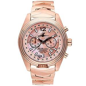 "The Abingdon Co. ""Katherine"" Aviation Watch | Japanese Quartz Watch Movement | Stainless Steel Analog Dial Wrist Watch…"