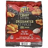 Ritz Crisp & Thins Sea Salt Bag Potato, 115g