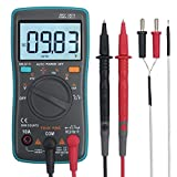 eSynic Digital Multimeter 6000 Counts TRMS Auto Ranging Tester with Backlit LCD Display