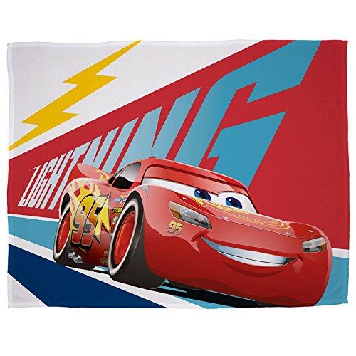 Disney Cars 'Lightning' Fleece Blanket - Large Print Design