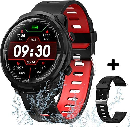 Smart Watch Fitness Tracker for Men Women, Waterproof Activity Tracker Watches with Heart Rate Monitor Step Counter Sleep Tracker Call Message Reminder Smartwatch Compatible Android Samsung iOS Phones