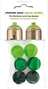 Montana Cans Montana GOLD 6 Green Capset Spray Paint Cap
