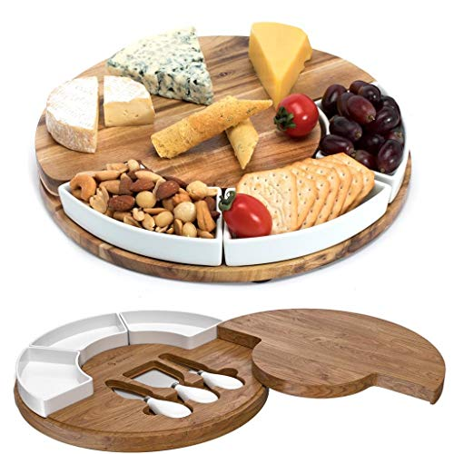cheese board and knives - 1