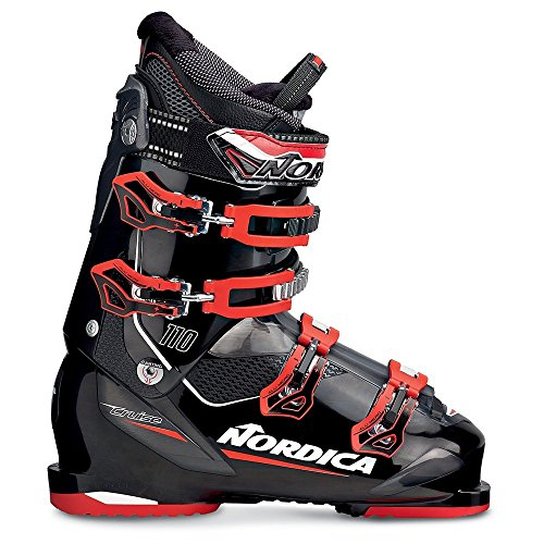 Nordica Cruise 110 Ski Boot 2016 - Black/Red (Nordica Mens Ski)
