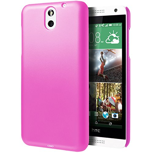 HTC Desire 610 Case, Cimo [Satin] Ultra Slim Matte Soft Touch Hard Case for HTC Desire 610 (2014) - Pink - Htc 610 Case