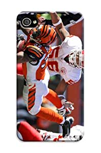 DIY Impressive NBA Cincinnati Bengals Hard Case Cover Fit For iPhone 4/4S