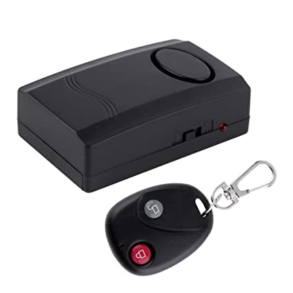 Control remoto de alarma hilos de la vibración Inicio seguridad antirrobo alarma de seguridad sistema detector