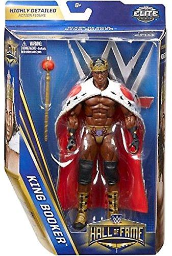 WWE ELITE HALL OF FAME FIGURE KING BOOKER