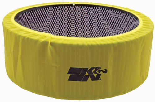K&N E-3760PY Yellow Precharger Filter Wrap - For Your K&N 25-3760 Filter