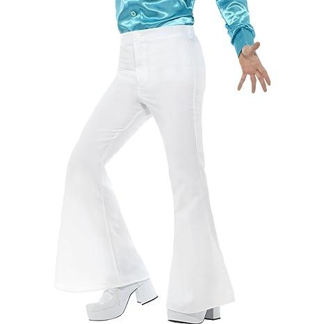 1aae50ace8 Pantalones de Pata de Elefante Blancos - XL (ES 56 58)