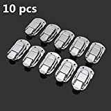 New 10pcs Spring Draw Toggle Latch Chest Box Suitcase wooden Box Buckle Aluminum Box Accessories