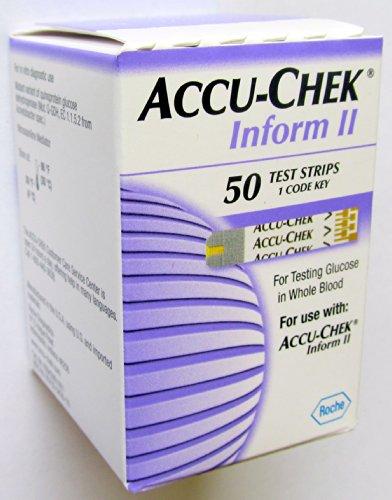 ACCU-CHEK Inform II TEST STRIPS - 1 BOX OF 50 COUNT