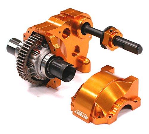 Integy RC Model Hop-ups BAJ176Orange Type IV Complete Gear Box w/ Heavy-Duty Diff & Gears for HPI Baja 5B, 5T & 5SC