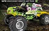 AXIAL 1 10 SCALE ELECTRIC 4WD GRAVEDIGGER MONSTER JAM TRUCK - THE COOLEST NEW TRUCK BY AXIAL OR ANYBODY IN YEARS