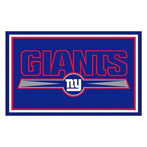 NFL New York Giants Novelty Mat Size: 4' x 6' by FANMATS