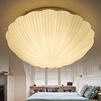 Injuicy Lighting Romance Seashell Ceiling Light Fixture