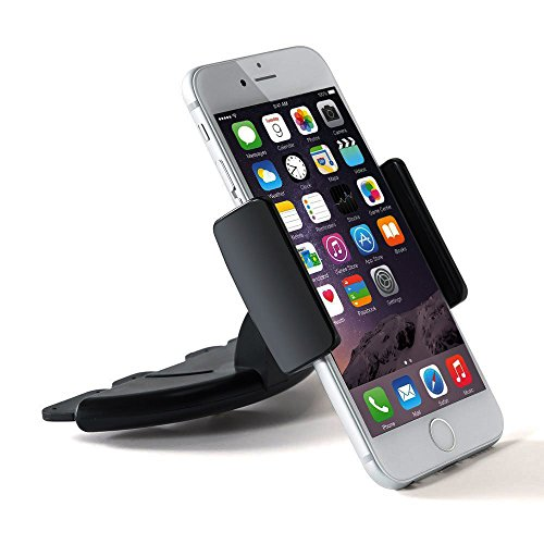 Amuoc Car Phone Holder CD Slot Mount Applicable to Mobile fo